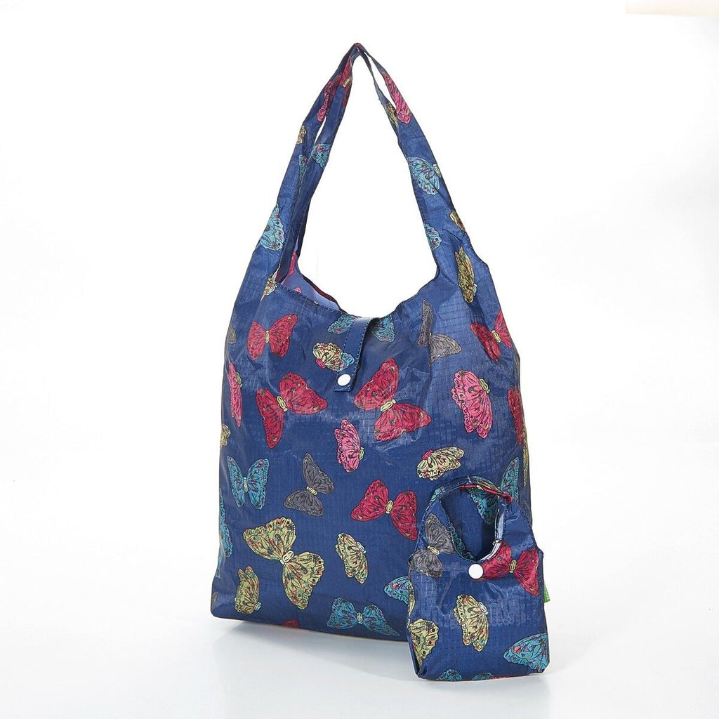 Foldaway Shopping Bag Butterflies