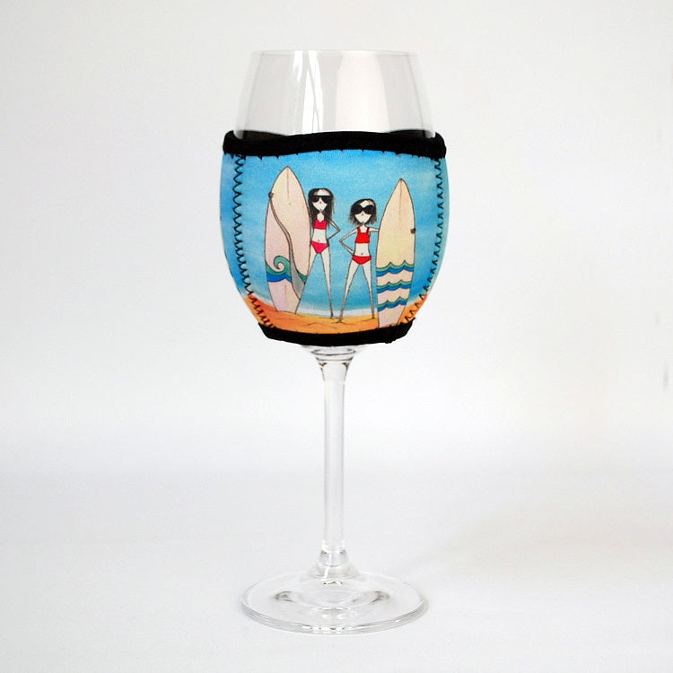 Wine Glass Cooler Let it all Go