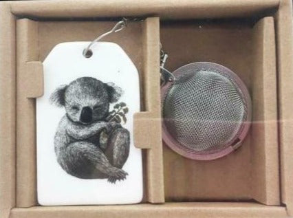 Koala with Eucalyptus Tea Infuser