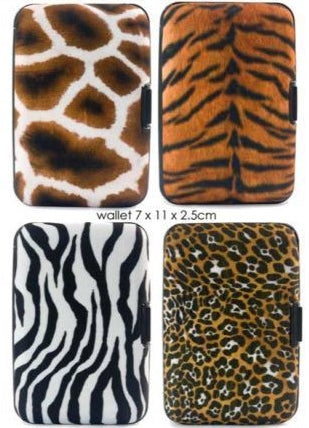 Security Wallets Animal Prints