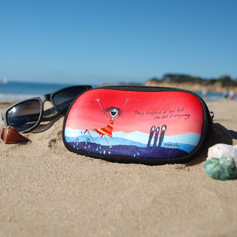 Laugh Sunglasses Case