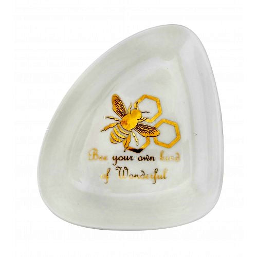 Trinket Dish Bee Gold