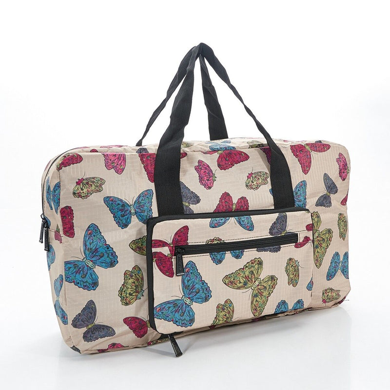 Foldable Overnight Bag Butterflies