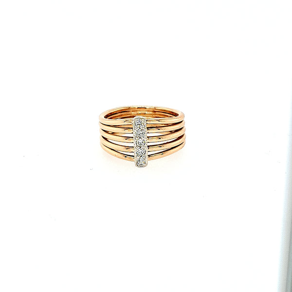 Destiny Diamond Ring in 9ct Gold