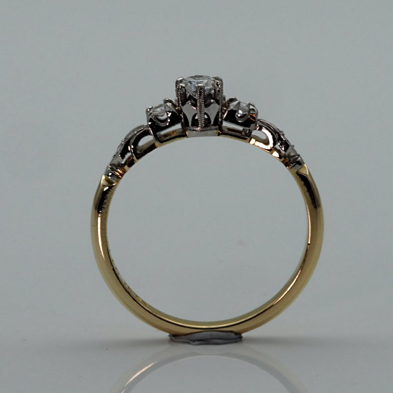 Vintage Ring Side View