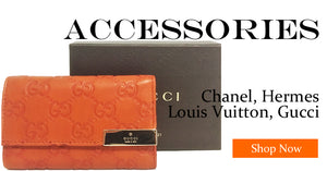 Designer Resale Accessories Gucci Chanel Hermes