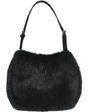 Load image into Gallery viewer, Belle Fare Mink Knitted Hooded Vest Brown Size M