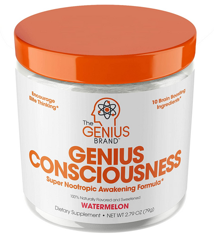Genius Consciousness - Super Nootropic Brain Booster - Energy Supplements