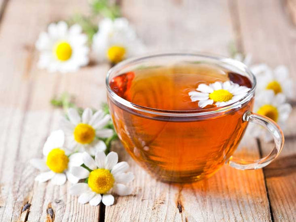 Chamomile for Bloating - herbs for pms
