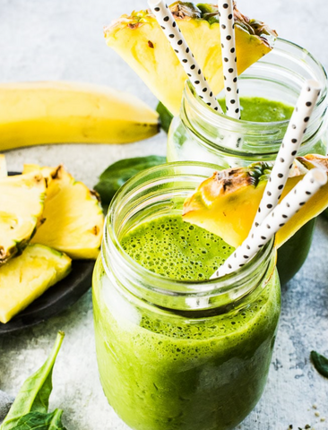 Green Powders for Smoothies - Green Breakfast Smoothie