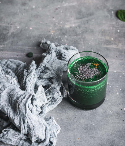 Green Powders for Smoothies - Super Green Spirulina Smoothie