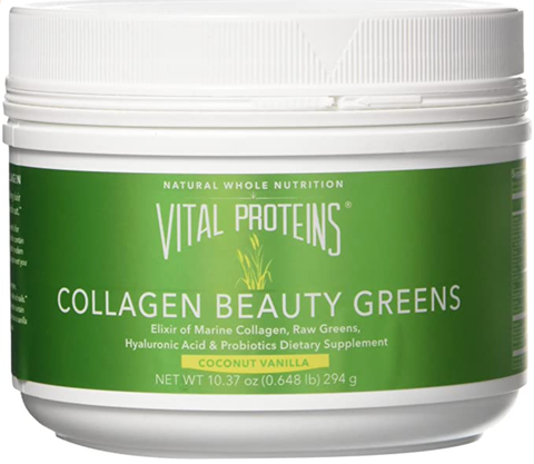 Vital Proteins Collagen Beauty Greens - Green Powder for Inflammation