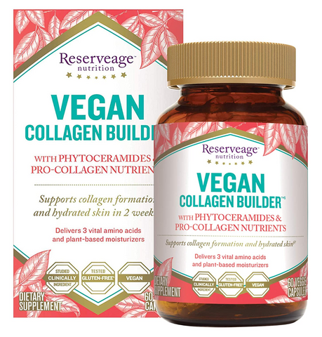 Vegan Collagen Supplements - Reserveage Vegan Collagen Builder
