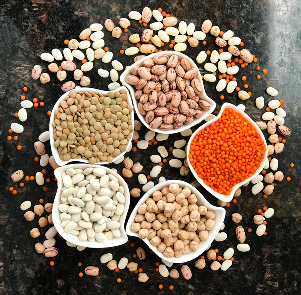 Lentils, beans, and more