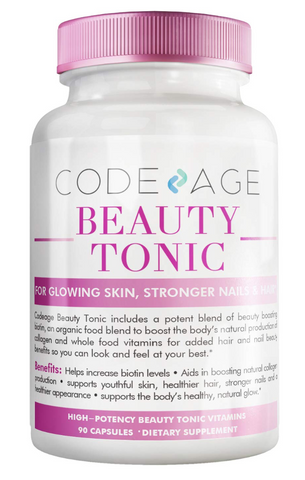 Vegan Collagen Supplements - Codeage Beauty Tonic