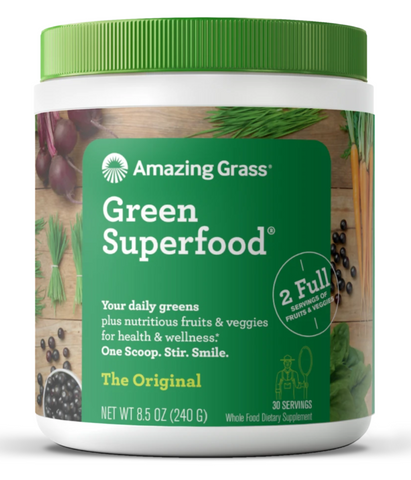 Best Green Powders - Amazing Grass Green Superfood