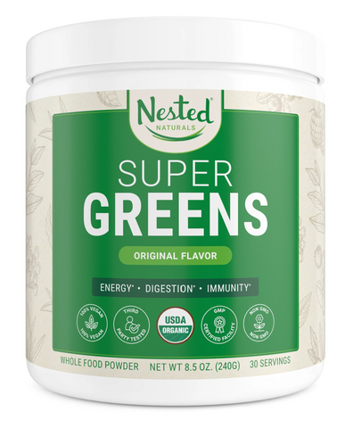 Best Green Powders - Nested Naturals Super Greens