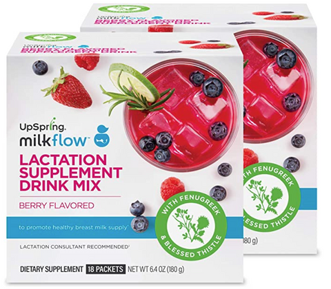 UpSpring Milkflow Lactation Supplement Drink Mix