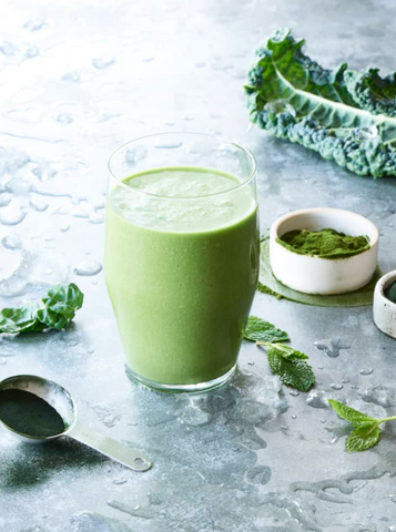 Green Powders for Smoothies - Superfood Green Blast Smoothie