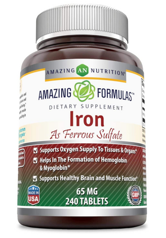 Iron - Energy Supplements