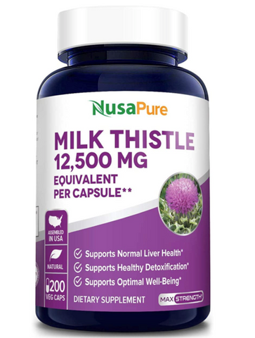 NusaPure's Milk Thistle Extract