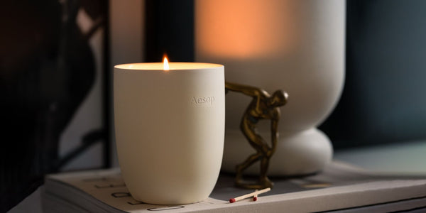 Scented Candle enhances mood area of your brain