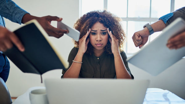 stress is detrimental to our productivity and could cause low energy in females