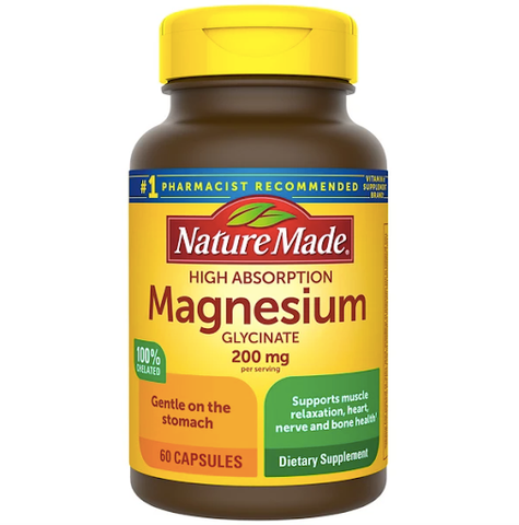 Magnesium could be used as a stress relief supplement