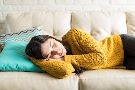 Longer than 20 minutes of nap can be a cause of low energy in females