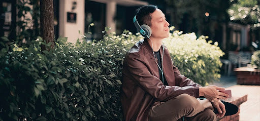 great stress relief tip is to listen to music