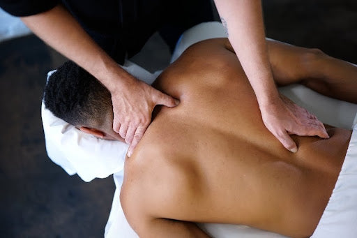 another stress relief tip is to go and get a relaxing massage