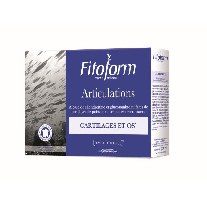 FITOFORM Articulations - 20 ampoules