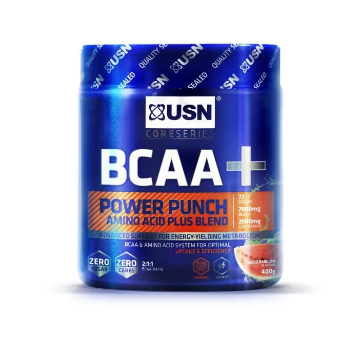 USN BCAA Power Punch Pasteque 400 gr Bien Etre