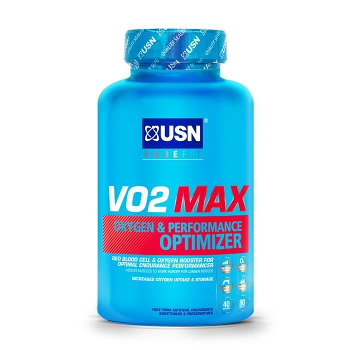 USN Complément alimentaire VO2 Max Broncho Modulator - 60 capsules