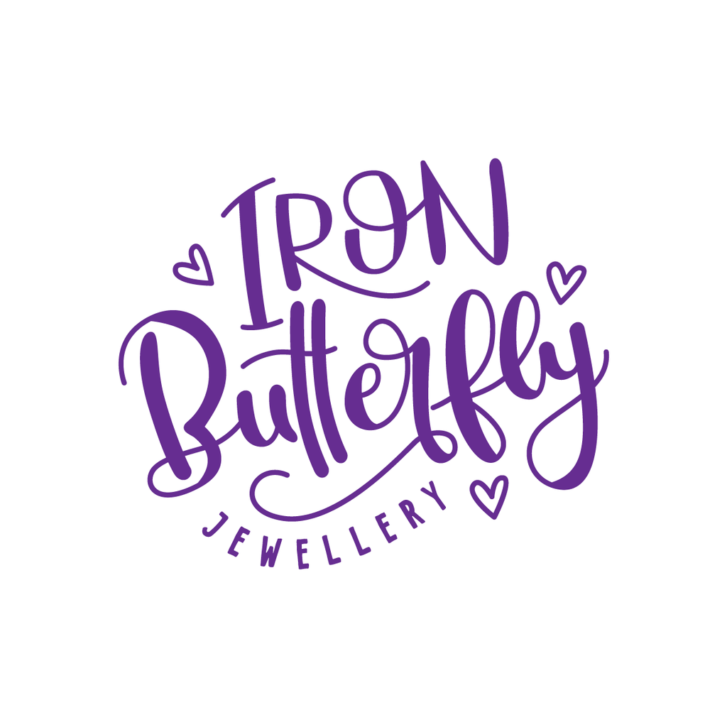 Logo Design | Sweet Petite | Iron Butterfly Jewellery