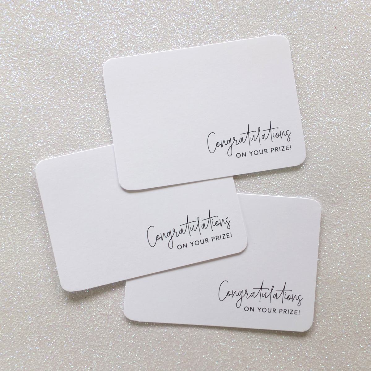 'Congratulations' Thank you Cards | Sweet Petite