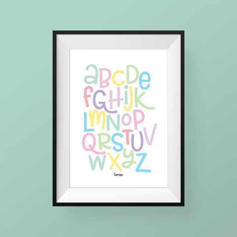 The Alphabet | Sweet Petite ABC Print