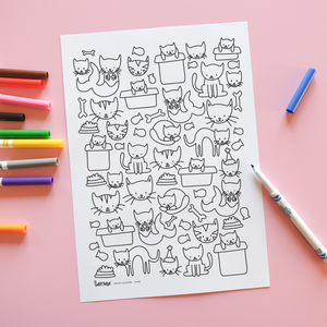 Hello Colour - Cats