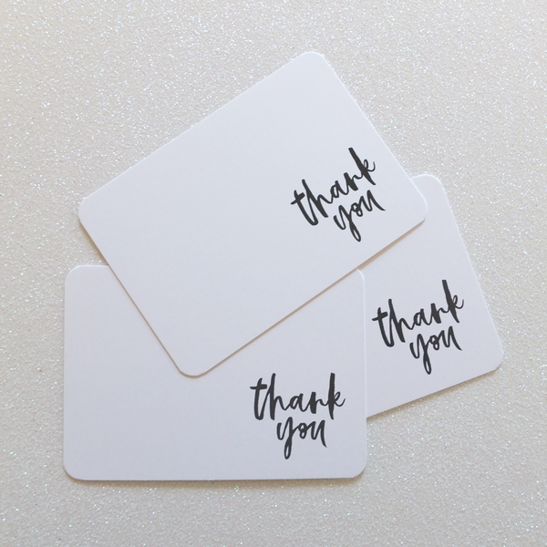 'Thank You' Thank you Cards | Sweet Petite
