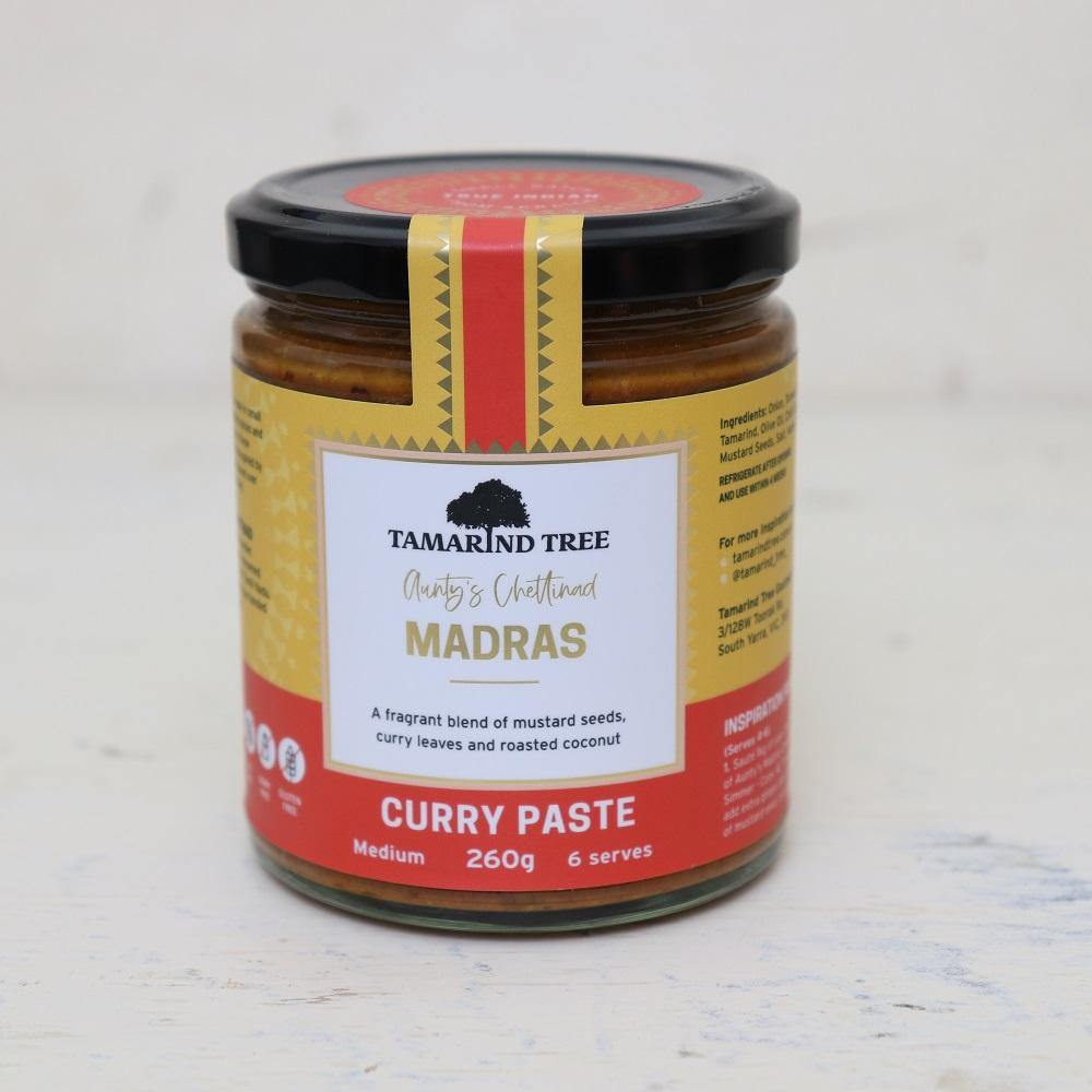 Madras Aunty's Chettinad Curry Paste - Medium