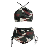 Women's Sexy Camouflage Swimsuit Bikini - Sell-off