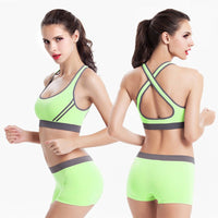 Women's Shockproof  Sport bra Suits - Sell-off