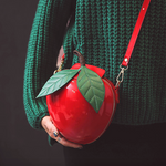 Women's Mini Apple Shaped Shoulder Purse - Sell-off