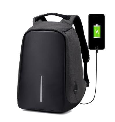 Antitheft External USB Charging Backpack - Sell-off