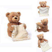 Hide-And-Seek  Electric Plush Teddy Bear - Sell-off