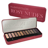 Beauty Rose Gold Colors Textured Eye shadow Palette Makeup Contour Metallic - Sell-off
