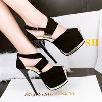 Fashion Design Super High Heel Night Club Sexy Pump - Sell-off