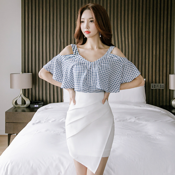 Fashion High Waist Solid Skirts - Sell-off