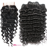 Curly Brazilian Weave - 4 Bundles 200g - Sell-off