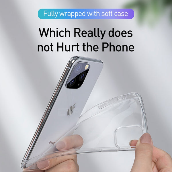 Clear Soft TPU Case For iPhone 11 Pro Max 7 8 6 6s Plus 7Plus 8Plus - Sell-off